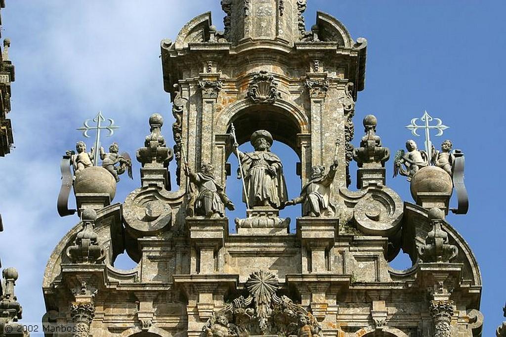 Santiago de Compostela Pórtico de la Gloria Galicia