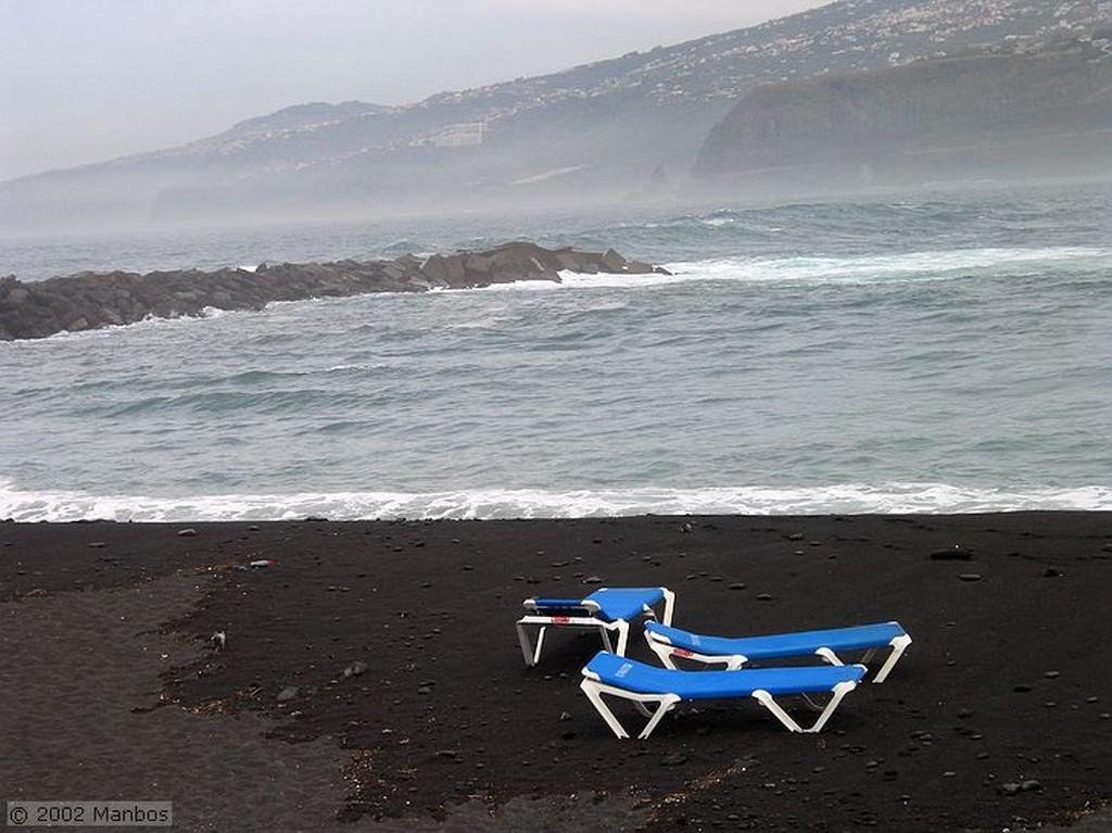 Tenerife Acceso a la playa Canarias