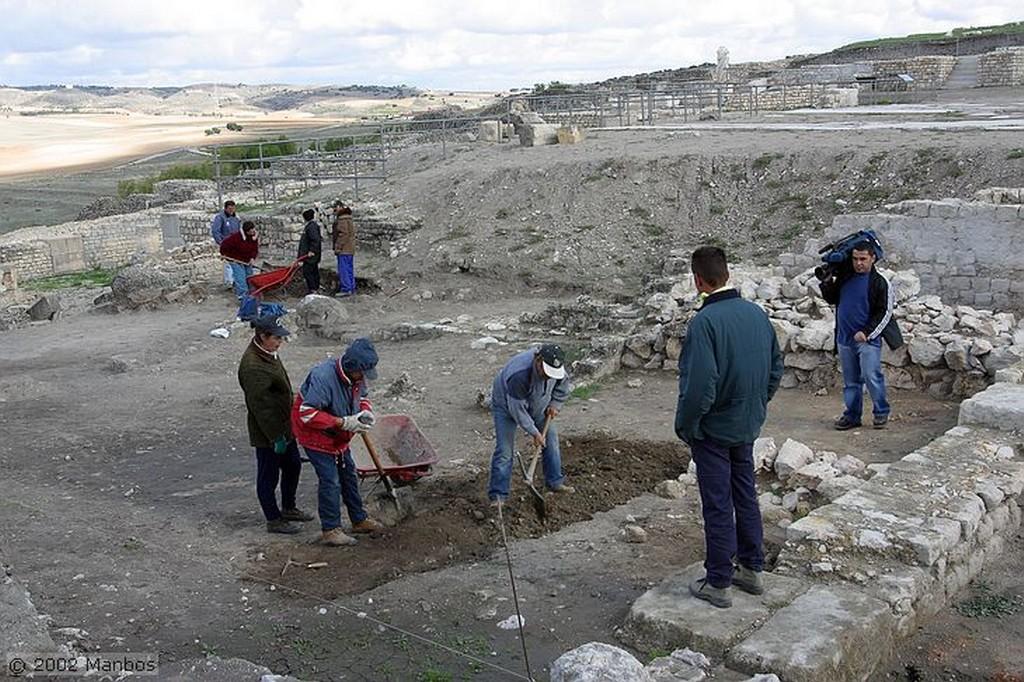 Segóbriga Excavaciones en el Foro Cuenca