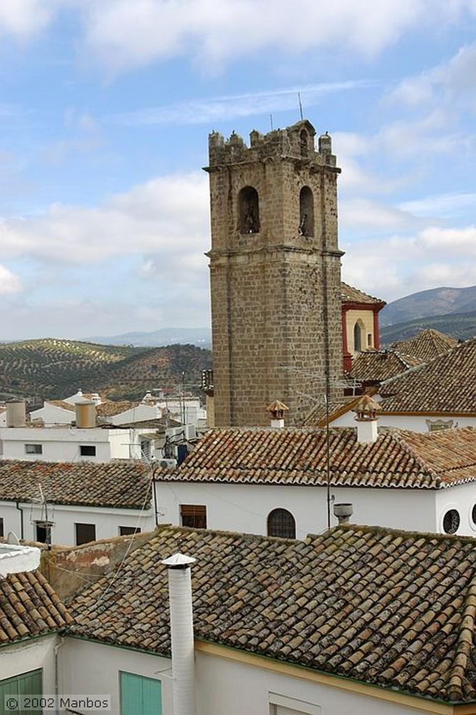 Priego de Córdoba Vistas desde el castillo árabe Córdoba
