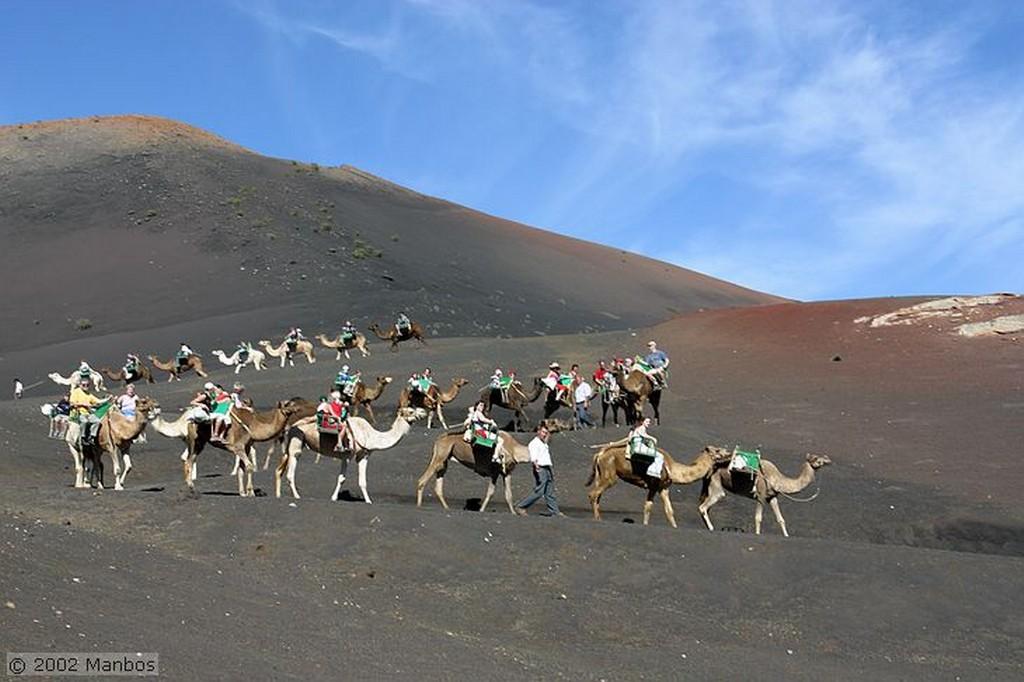 Lanzarote Parque Nacional Timanfaya - Montaña de Fuego Canarias