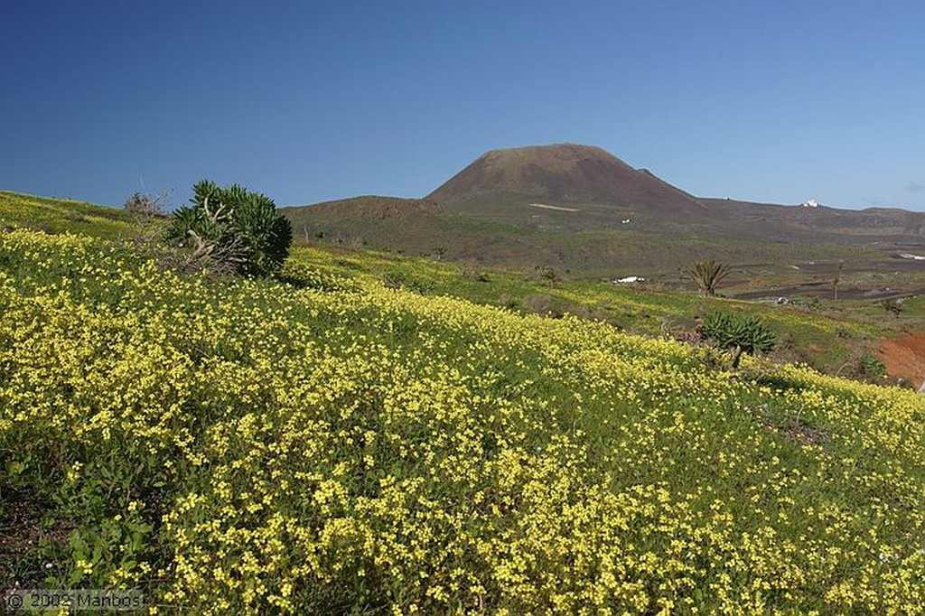 Lanzarote Volcán Corona Canarias