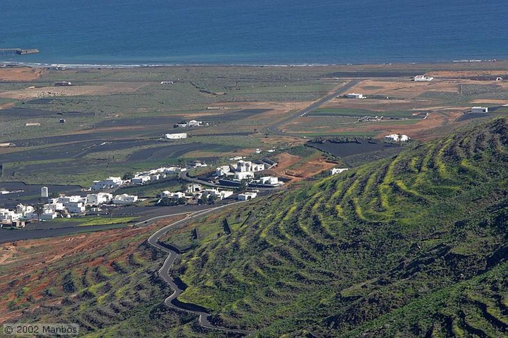 Lanzarote Caleta de Famara Canarias