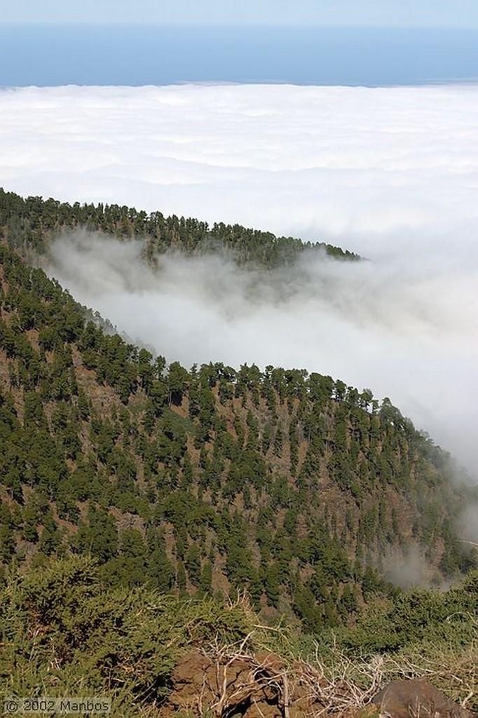 La Palma El Teide desde el Roque de los Muchachos Canarias
