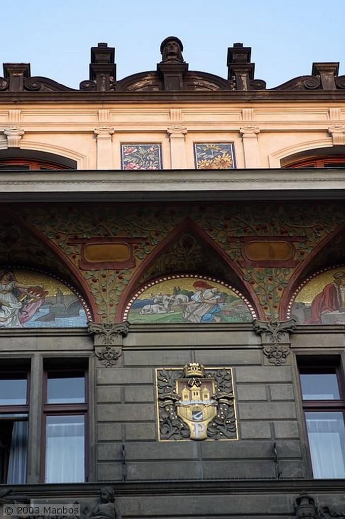 Praga Calle Ovocny Trh Praga