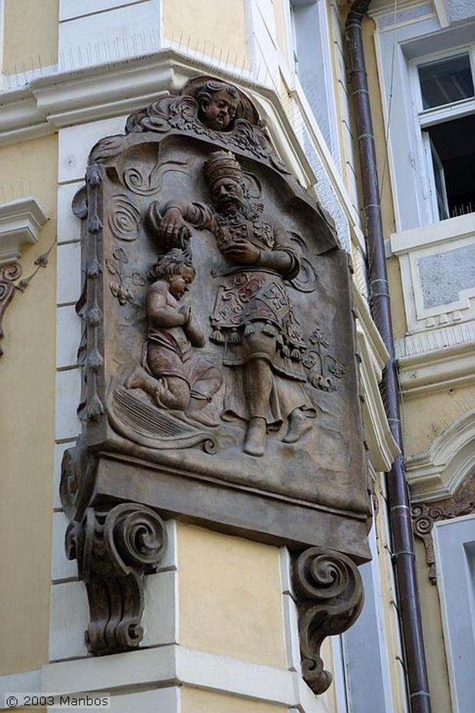 Praga Calle Zelezná Praga
