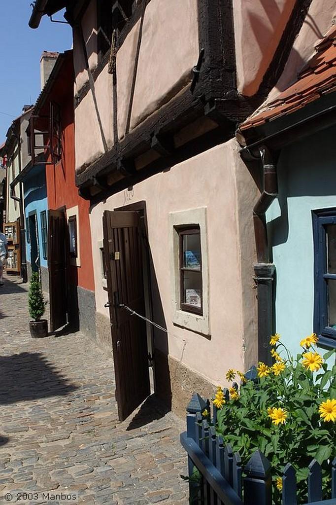 Praga Callejón del Oro Praga