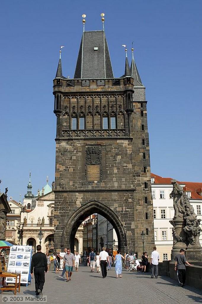 Praga Detalle de la Torre Praga