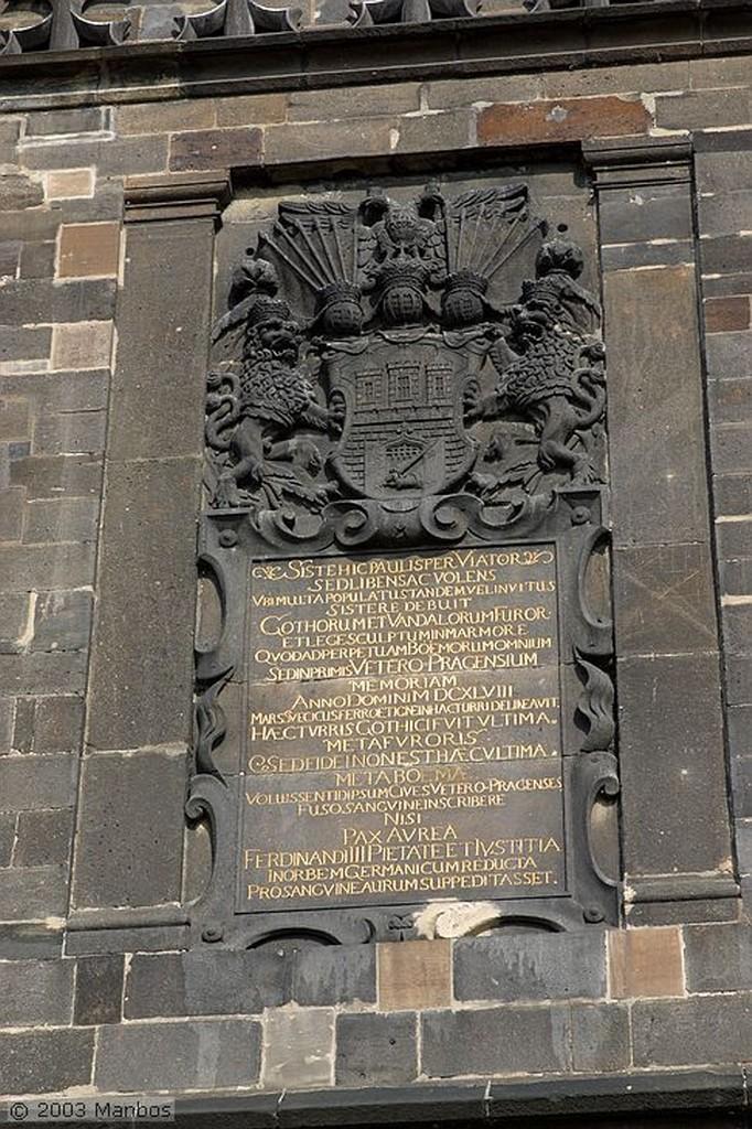 Praga Puente de Carlos Praga
