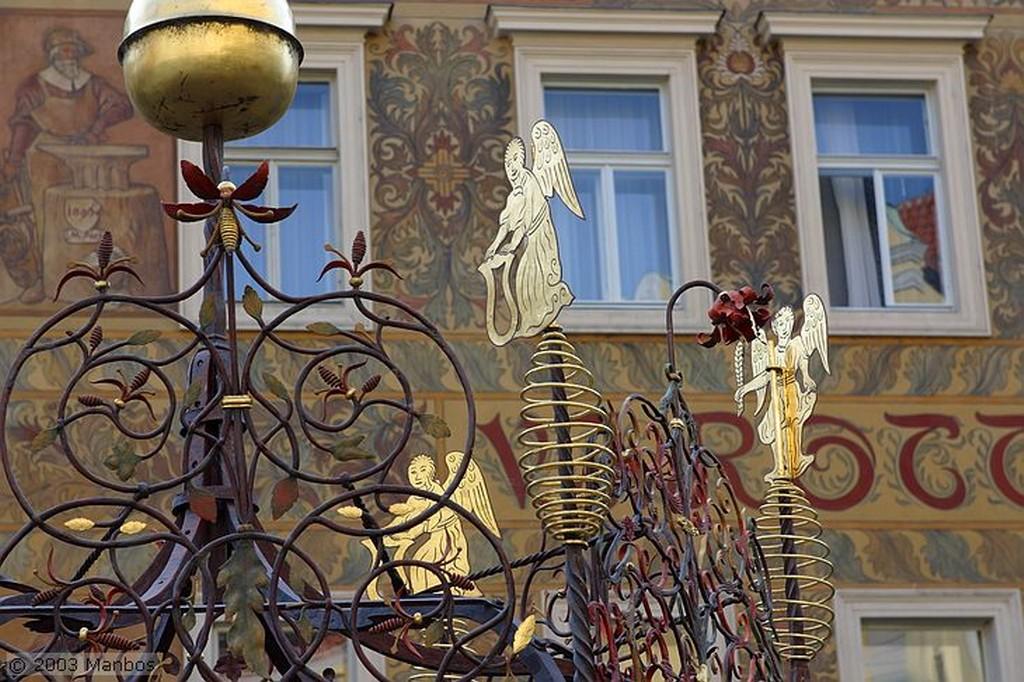 Praga Globo en la Plaza Vieja Praga