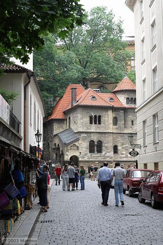 Praga Barrio Judío Praga