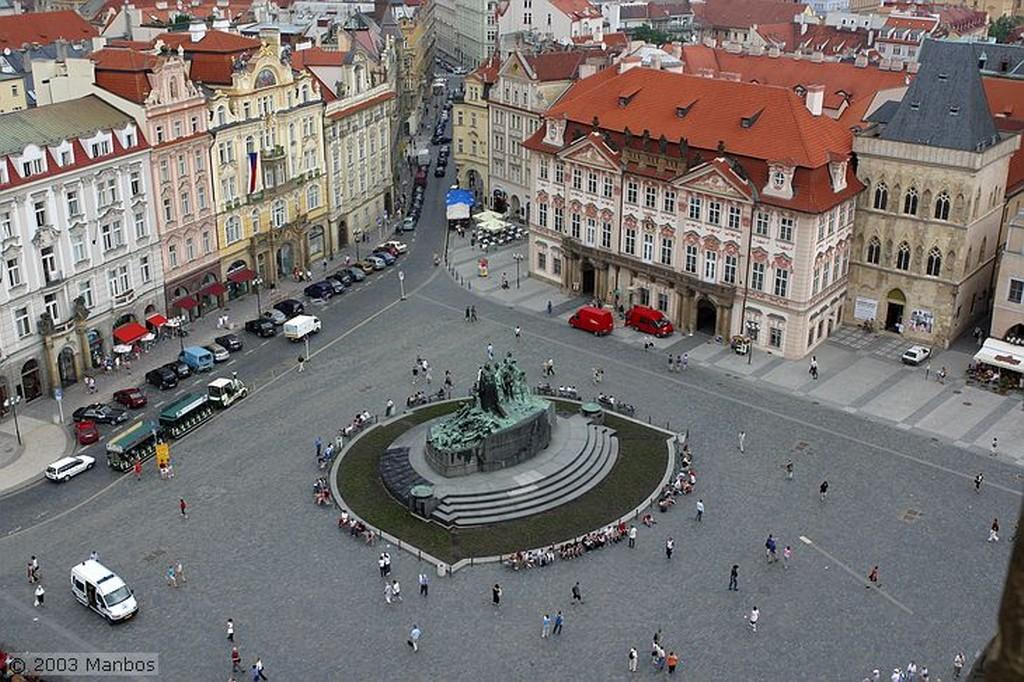 Praga Plaza de la Ciudad Vieja Praga