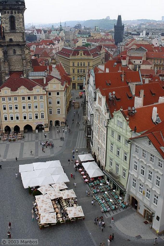 Praga Vista desde la torre del Ayuntamiento Praga