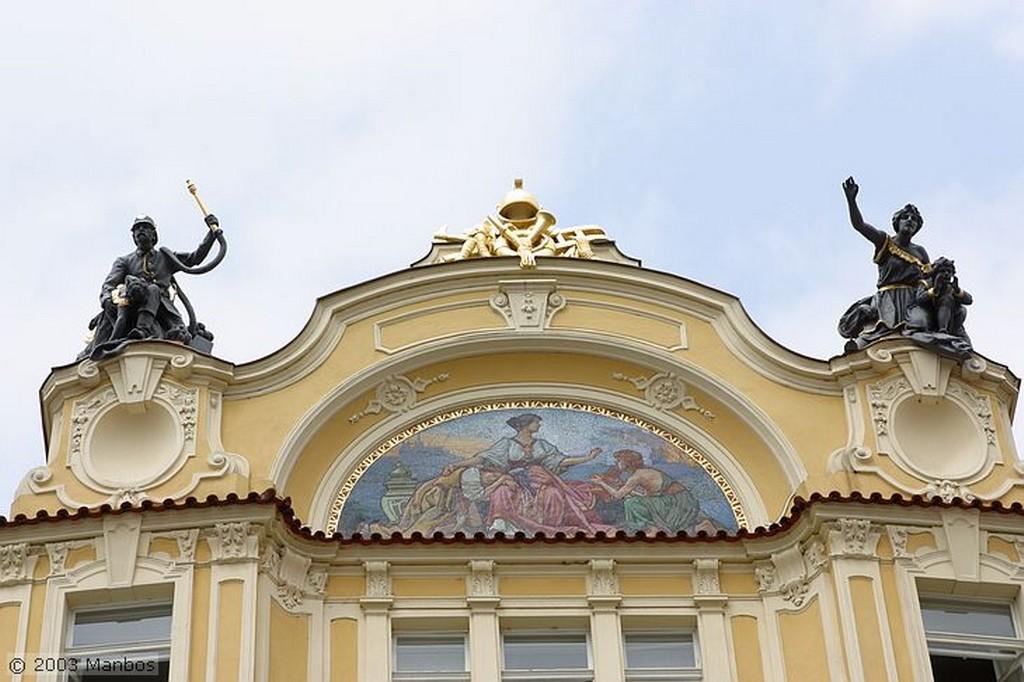 Praga Ministerio de Comercio Praga