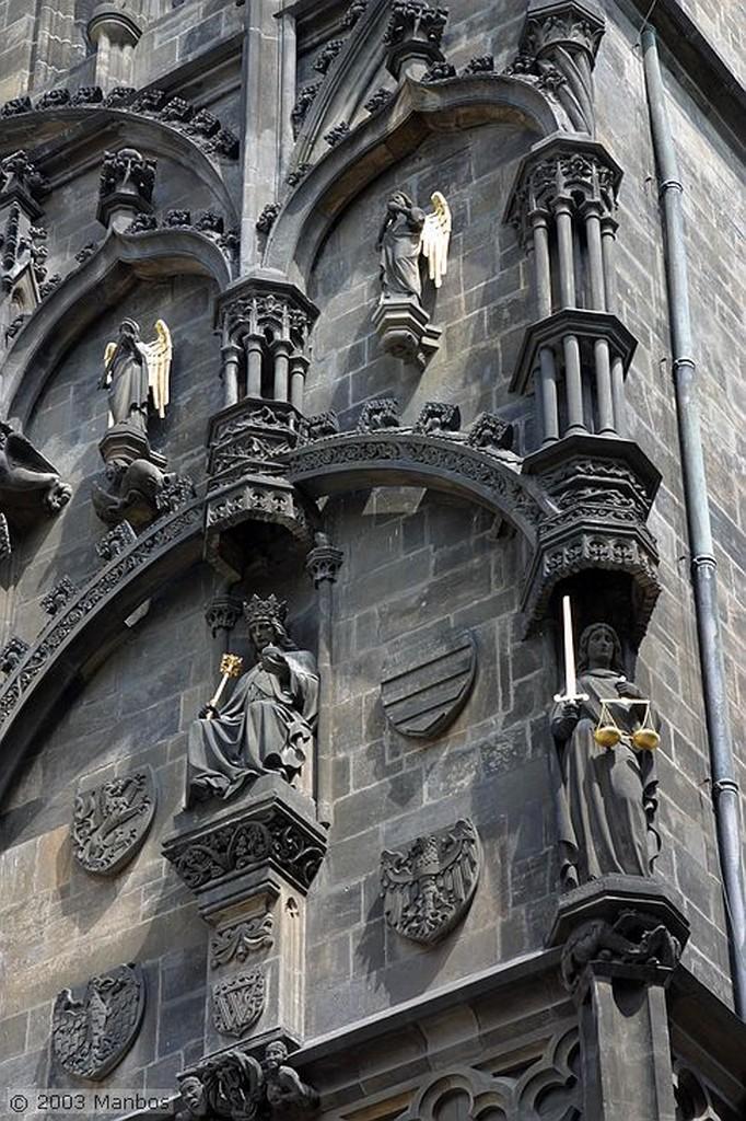 Praga Torre de la Polvora Praga