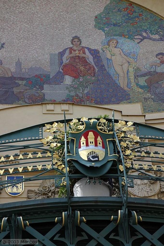 Praga Casa Municipal Praga