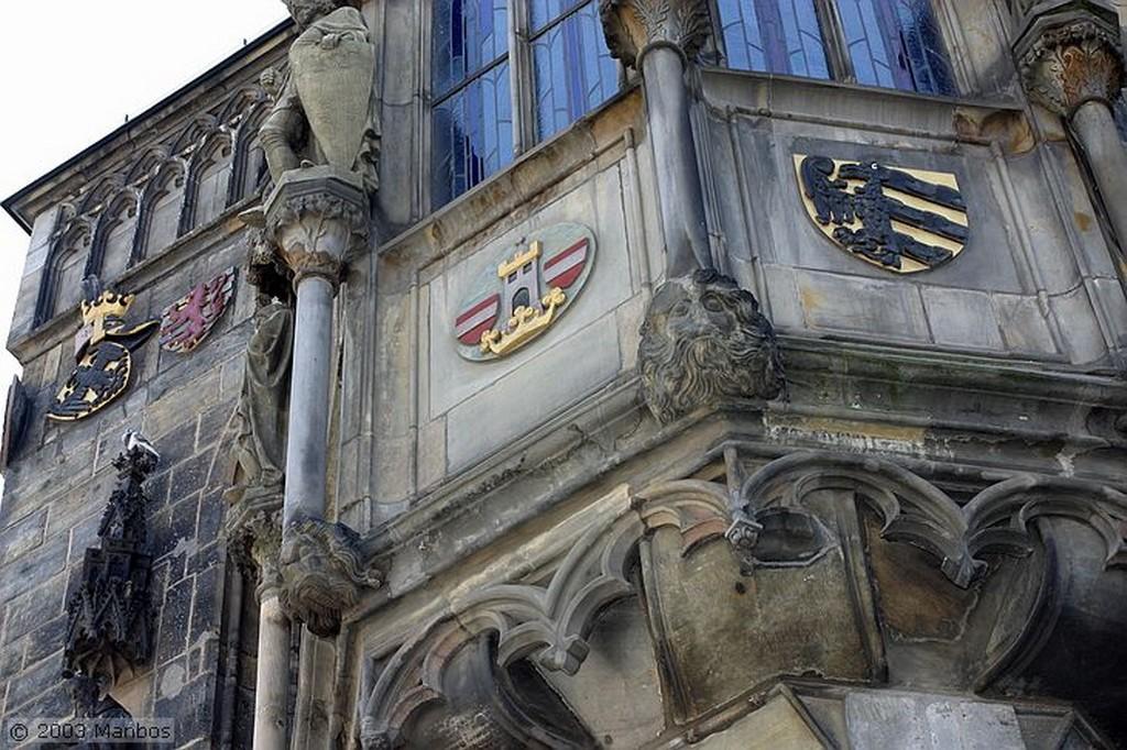 Praga Torre del Ayuntamiento Praga