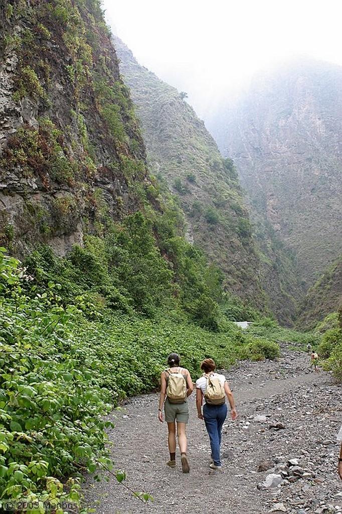 Tenerife Senderismo por el barranco Canarias