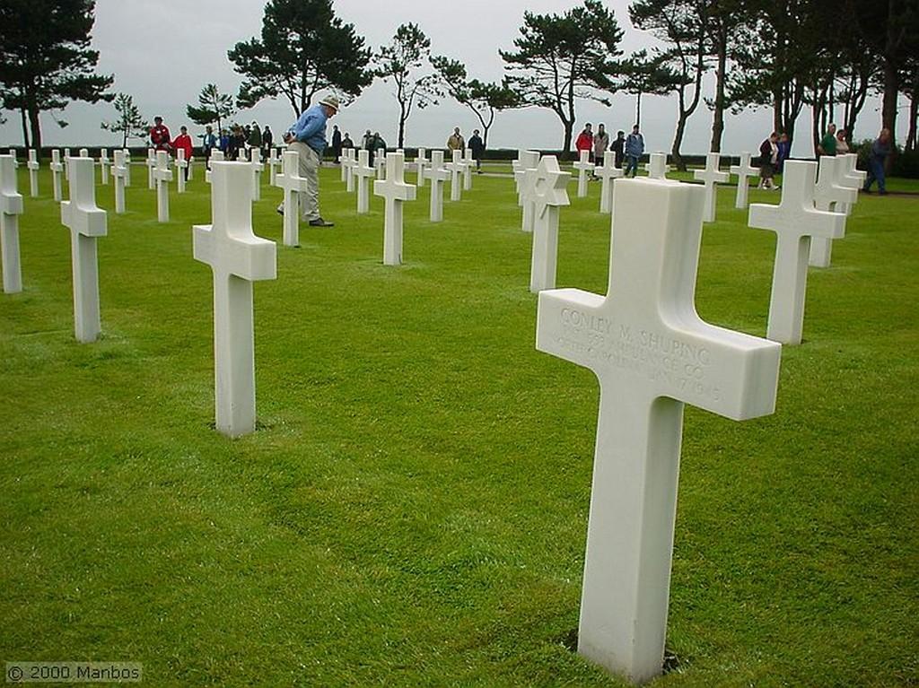 Normandia Cementerio americano Normandia