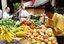 Funchal Vendedor de fruta Madeira