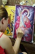 Foto de Monasterios de Meteora, Meteora, Grecia - Pintando iconos bizantinos