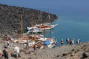 Volcano, Santorini, Grecia
