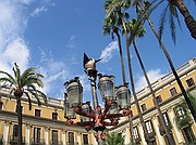 Plaza Real, Barcelona, España