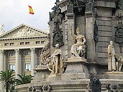 Camara Canon PowerShot G5 Pié de la estatua de Colón Fin de Semana en Barcelona BARCELONA Foto: 2372