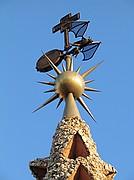 Palacio Guell, Barcelona, España