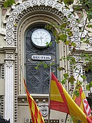 Photo of Barcelona, Spain - La hora oficial - Primer reloj público