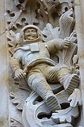 Foto de Salamanca, Catedral Nueva, España - El astronauta