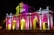 Puerta de Alcala, Madrid, España