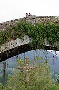 Puente romano, Cangas de Onís, España