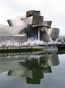 Camara Canon PowerShot G5 Reflejo en la Ría Museo Guggenheim BILBAO Foto: 4152