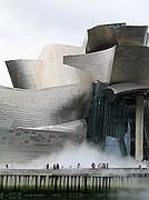 Camara Canon PowerShot G5 Niebla en el Guggenheim Museo Guggenheim BILBAO Foto: 4153