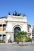 Piazza Settimo Severo, Palermo, Italia