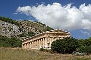Segesta, Templo de Segesta, Italia