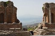 Teatro griego, Taormina, Italia