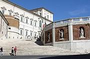 Piazza Quirinale, Roma, Italia
