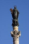 Foto de Roma, Piazza di Spagna, Italia - Colonna delle Immacolata