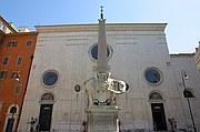 Piazza della Minerva, Roma, Italia