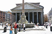 Piazza della Rotonda, Roma, Italia