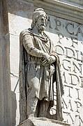 Arco de Constantino, Roma, Italia