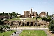 El Foro Romano, Roma, Italia