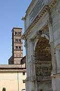 Arco de Tito, Roma, Italia