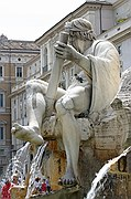 Foto de Roma, Piazza Navona, Italia - Fontana dei Fiumi