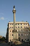 Piazza di Santa Maria Maggiore, Roma, Italia
