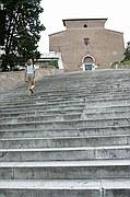 Escalera Aracoeli, Roma, Italia