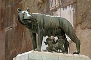 Foto de Roma, Piazza del Campidoglio, Italia - Rómulo y Remo y la Loba
