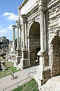 Foto de Roma, El Foro Romano, Italia - Arco de Septimio Severo